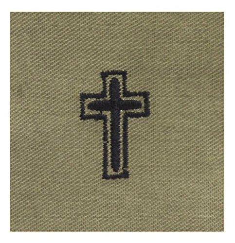 - Vanguard AIR FORCE EMBROIDERED BADGE: CHRISTIAN CHAPLAIN - ABU