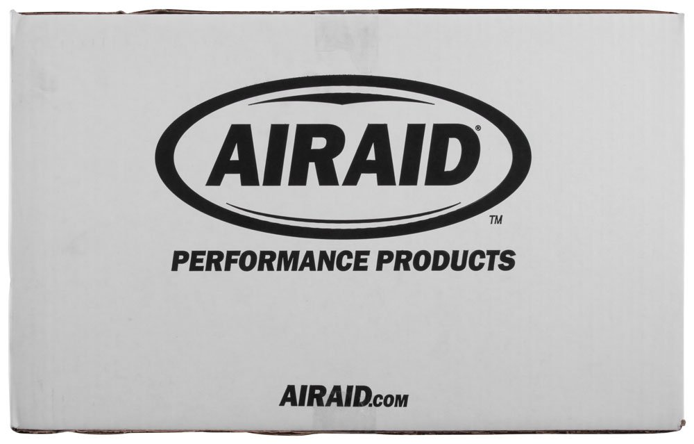 AIRAID 451-327 Performance Cold Air Intake System with Red SynthaMax Dry Air Filter