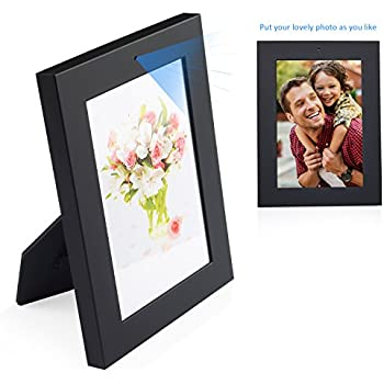 NexGadget Photo Frame Security Camera, 720P HD Easy-Use Camera with Take Photo/Record Video/Motion Detection, Day Vision Only