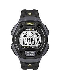 """Timex """"Ironman Classic 30"""" - Reloj de tamaño completo, Black/Gray/Lime Accent"""