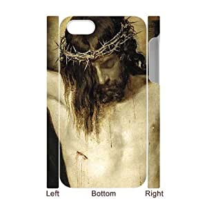 3D Bumper Plastic Case Of Jesus customized case For Iphone 4/4s by lolosakes