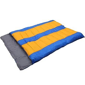 QFFL shuidai Saco de Dormir/Doble Saco de Dormir de Los Amantes/Acampar Al