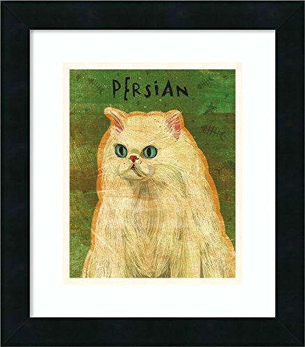 (Framed Wall Art Print | Home Wall Decor Art Prints | Persian by John W. Golden | Modern Decor)