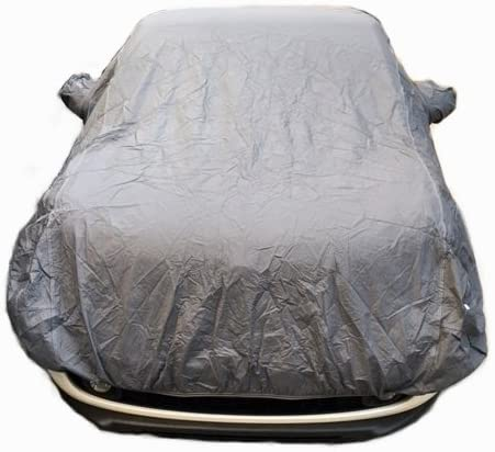 pour Opel GRANDLAND X Housse DE Voiture IMPERM/ÉABLE avec Doublure Toile B/ÂCHE Taille L 482X196X120CM Couverture Anti-Rayures Universelle