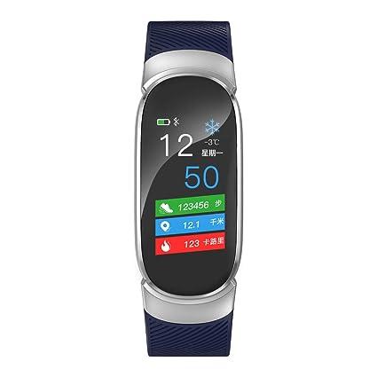 Cebbay Reloj Inteligente Detector de Ritmo cardiaco Pulsera Inteligente Reloj electronico Reloj de Hombre