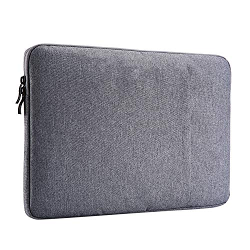 Laptop Sleeve Case 13 Inch Waterproof Fabric Compatible with Macbook Air 13/ MacBook Pro 13.3-Inch Retina 2012-2015/12.9 ipad Pro, HP Asus Dell Acer Chromebook Ultrabook Notebook Tablet Bag (Grey 05)