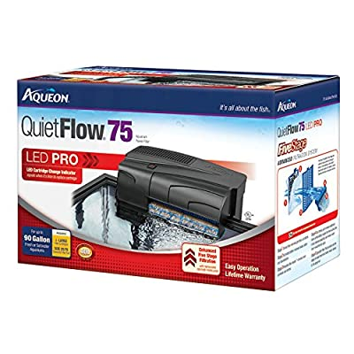 Aqueon QuietFlow LED PRO Aquarium Power Filters