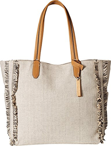 Vince Camuto Women's Iona Tote Beige/White One Size by Vince Camuto