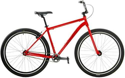 Gravity Single Speed Cruiser 29er Adult BMX Bike (Hot Red, 15.5 inch = 5'5 to 5'10) Review