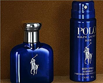 9b828bb6c5 Amazon.com   Ralph Lauren Polo Blue 1.36 oz   40 ml edt Spray And 1.75 oz    50 gr Deodorant Body Spray in A Personal Organizer   Fragrance Sets   Beauty