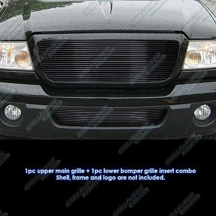 Fits 2004-2005 Ford Ranger Billet Grille Insert