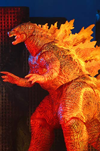 """NECA Burning Godzilla King of The Monsters 12"""" Head to Tail, Exclusive"""