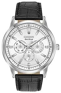 Citizen BU2070-04A Corso Men's Watch Black 44mm Stainless Steel