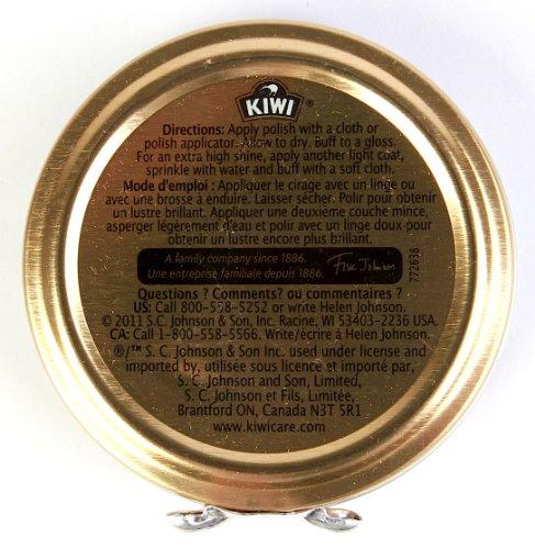 Kiwi Shoe Polish Paste, 1-1/8oz, Black, 144-Pack by Kiwi (Image #1)