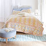 Brylanehome India Paisley Quilt (Multi,King)
