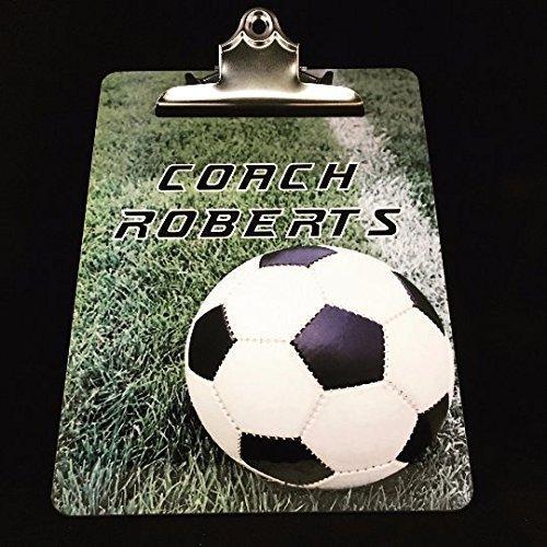 Soccer Coach Clipboard Soccer Coach Gifts Soccer Coach Custom Coach Clipboard Soccer