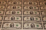 2013 UNCUT SHEET 32 SUBJECT TWO DOLLAR BILLS UNITED STATES CURRENCY MONEY $2
