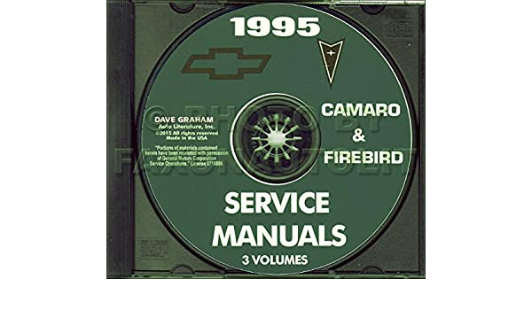 1995 pontiac firebird and trans am shop service repair manual cd rh amazon com 1998 Pontiac Firebird 1996 Pontiac Firebird