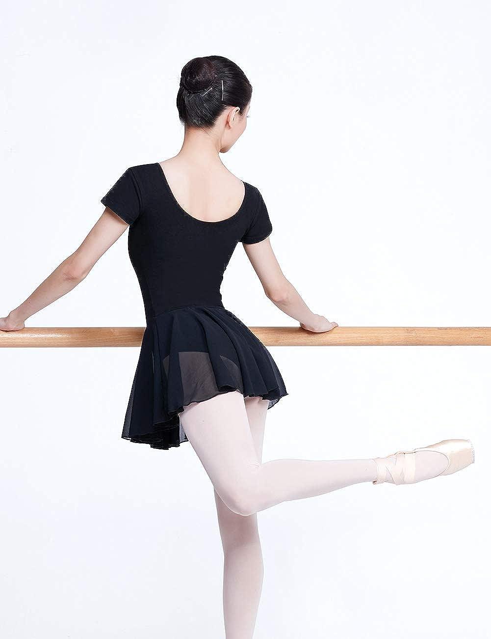 Womens Skirted Leotards Ballet Dance Dress