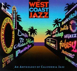 amazon the west coast jazz box an anthology of california jazz