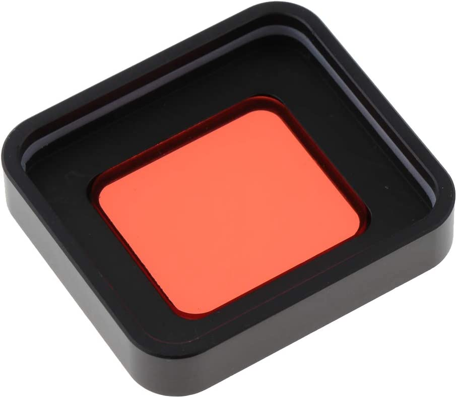 UV, CPL Polarizer, Red, Yellow, Blue//Orange//Gray-Graduated Almencla 4 Pieces Professional Photography Filter Kit Square Lens Filters for GoPro Hero 5 6 7