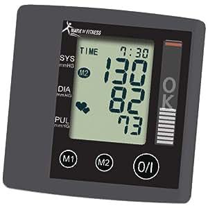 Mark of Fitness MF-87 Automatic Wrist Blood Pressure Monitor