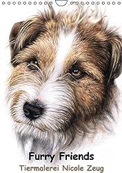 Furry Friends - Tiermalerei Nicole Zeug (Wandkalender 2015 DIN A4 hoch): Hunde- und Katzenporträts by Nicole Zeug (Monatskalender, 14 Seiten)
