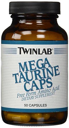 Twinlab Mega Taurine Caps 1000mg, 50 Capsules