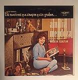 1963 Ultra Rare Amalia Mendoza con el Mariachi Vargas De Tecalitan : Las Canciones que siempre quise grabar : Arcano Records DKL1-3073 : Comes with a CD Transfer