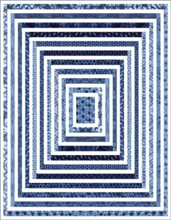 Debbie Maddy Shibori II Spellbound Quilt Kit Moda Fabrics KIT48010 by Moda Fabrics