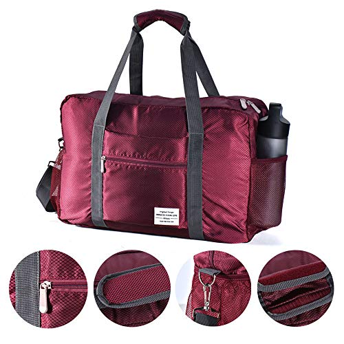 Arxus Travel Lightweight Waterproof Foldable Storage Carry Luggage Duffle Tote Bag (Couple Set)