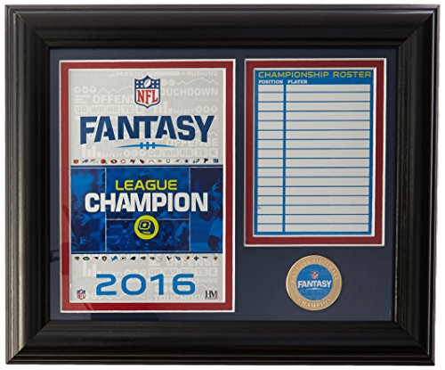 NFL Fantasy Football Champions Desk Top Photo Mint Coin, 17