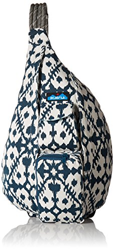 - KAVU Rope Bag, Blue Blot, One Size