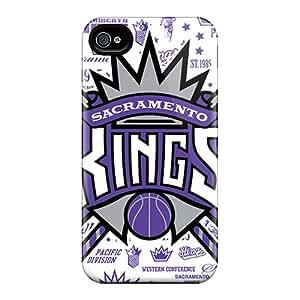LPq1361GoyD Case Cover Sacramento Kings Iphone 4/4s Protective Case