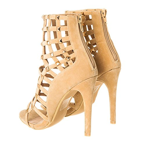 toe nude Diva Miss Suedette Peep Donna PFqna