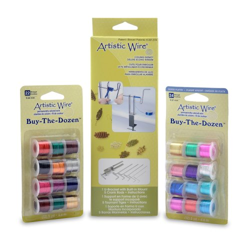 Coiling Gizmo Wire - Beadalon Artistic Wire Coiling Gizmo Deluxe Kit