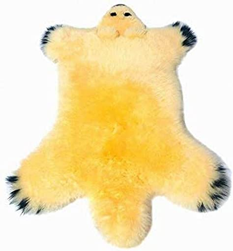 Gracefur Australia Sheepskin Rug Super Soft Cuddly Bear Design Area Rug