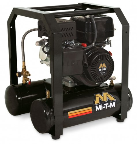 Mi T M Am1 Hm04 05M  Hand Carry Air Compressor  5 Gallon  Single Stage With Gasoline