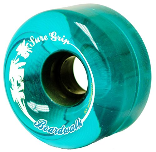 Sure-Grip Boardwalk Outdoor Wheels - Blue (Outdoor Quad)