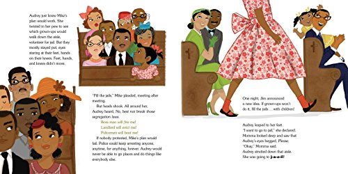 The Youngest Marcher: The Story of Audrey Faye Hendricks, a Young Civil Rights Activist by ATHENEUM (Image #3)