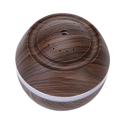 Cool Mist Humidifier Ultrasonic Aroma Essential Oil Diffuser for Office Home Bedroom Living Room Study Yoga Spa - Wood Grain (Brown) by O'abazar (Image #8)