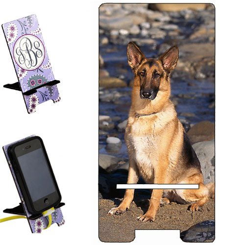 German shepherd dog Smartphone image STAND / Holder for cell phones Great Gift Idea