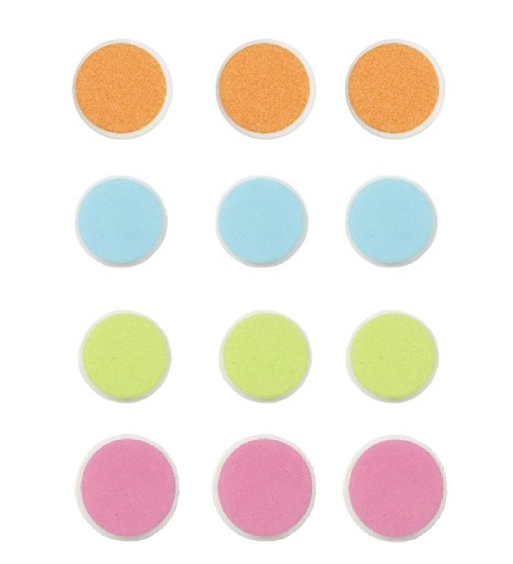 Nail Trimmer Replacement Pads fit for Zoli Baby Buzz B 12sets