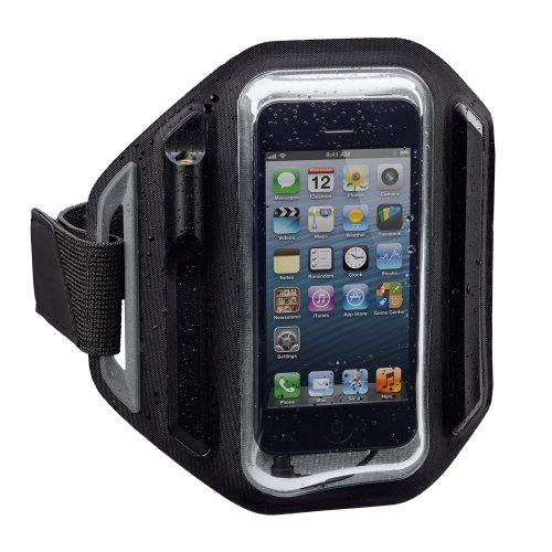 (X-1 (Powered by H2O Audio) MM-AB1 Momentum Weatherproof Armband for iPhone 4/5 (Black) Discontinued by Manufacturer)