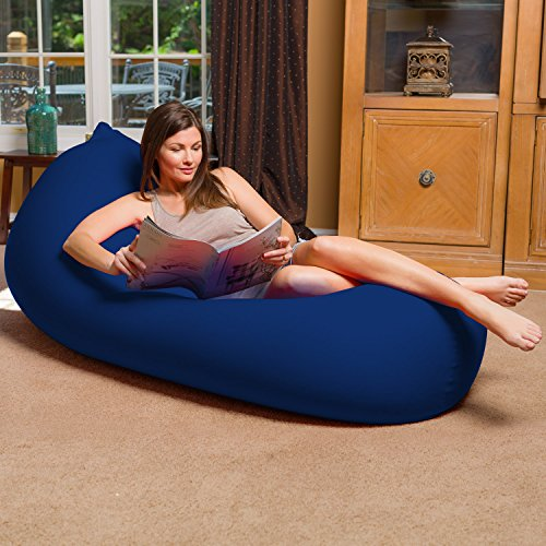 515EV4UzEzL - Big-Squishy-AMZ-SQT-SQ001-Portable-and-Stylish-Bean-Bag-Chair-Twist-Black