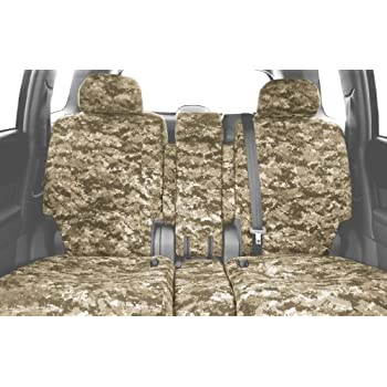 Urban Camouflage CalTrend Rear 60//40 Split Bench Custom Fit Seat Cover for Select Ford F-150 Models