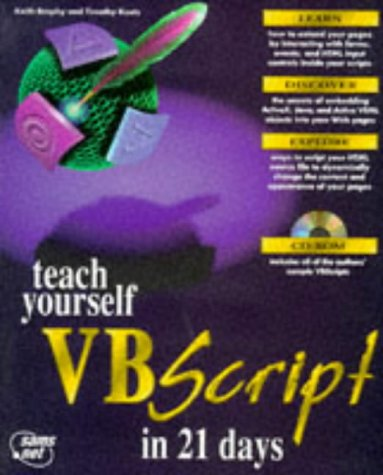 Teach Yourself Vbscript in 21 Days (Sams Teach Yourself)