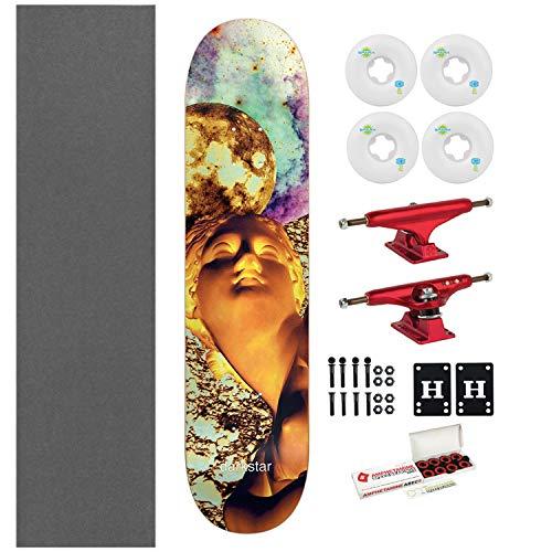 Solar Skateboard Deck - Darkstar Skateboard Solar Yellow 7.75
