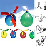 1 Pc Funny Balloon Helicopter Flying Educational Toys Kids Boys Girls Gift New