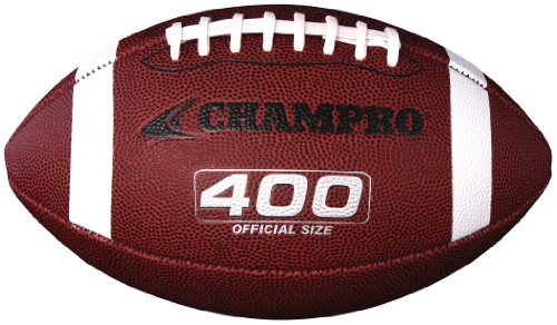 CHAMPRO Composite Cover Football (Tan, Official)